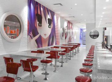 Thiết kế đẹp mắt của cửa hàng Dick's Pizza & Pleasure