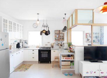 Thiết kế mới đầy sáng tạo cho căn hộ ở Tel Aviv