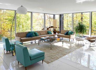Thiết kế phòng khách theo phong cách retro (Phần 2)