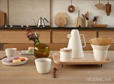 Bộ ấm tách cà phê với thiết kế ngộ nghĩnh