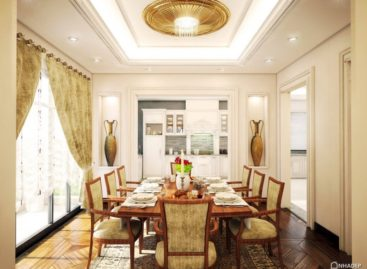 Cách trang trí một phòng ăn trang trọng