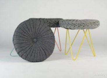 Thiết kế đặc trưng của thập niên 50 trong chiếc ghế Coretie