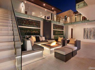 Ngắm nhìn ngôi nhà kiểu mẫu sang trọng và hiện đại ở Mỹ