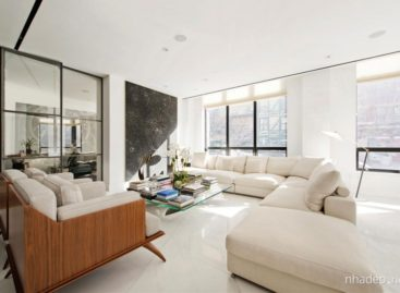 Ngôi nhà One Moore với thiết kế tao nhã ở New York