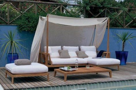 30 kiểu giường nằm ngoài trời cho một mùa hè lãng mạn