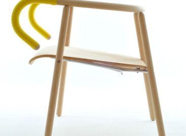 Ấn tượng với mẫu ghế lấy cảm hứng từ hình ảnh chiếc xe đạp