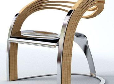 Thiết kế ghế Velichko Velikov's Elaxa độc đáo