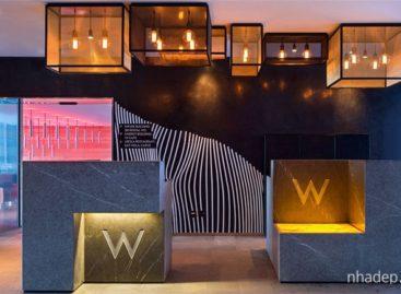 Không gian hiện đại và ấm cúng của khách sạn W tại Thụy Sĩ