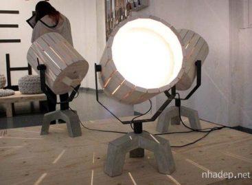 Đèn Barrel do công ty New Duivendrecht thiết kế