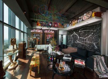 Mẫu thiết kế đầy sáng tạo của căn hộ Penthouse ở Mỹ