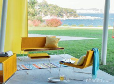 Thiết kế đồ ngoại thất lấy cảm hứng từ màu vàng của nắng
