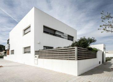 Ngôi nhà màu trắng V02 với thiết kế hiện đại