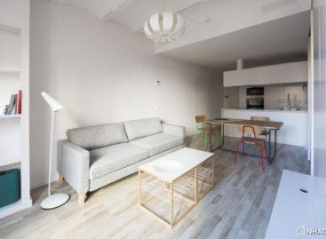 Thiết kế căn hộ cân đối, hiện đại cho không gian hẹp
