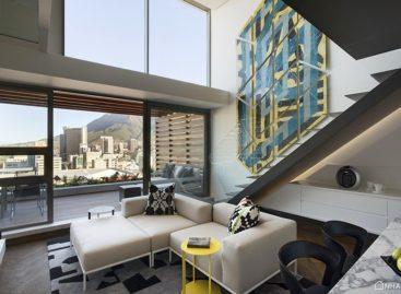 Vẻ đẹp đầy thu hút của căn hộ hiện đại ở Châu Phi