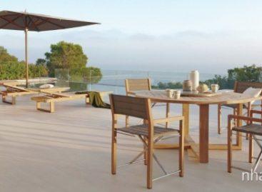 50 ý tưởng thiết kế bộ bàn ghế ăn ngoài trời (Phần 1)