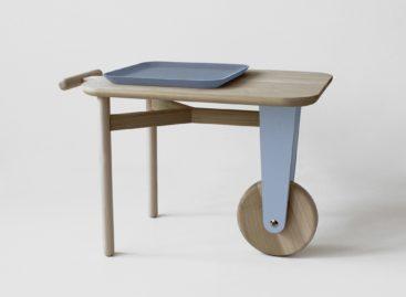 Chiếc bàn di động Motus xinh xắn
