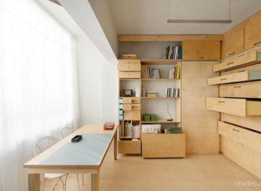Giải pháp mới cho không gian làm việc nhỏ hẹp của các studio thiết kế