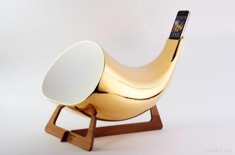 Sản phẩm khuếch đại âm thanh cho điện thoại làm bằng gốm sứ Megaphone