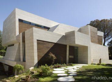 Ẩn mình trong thiên nhiên với thiết kế biệt thự Marble and Bamboo