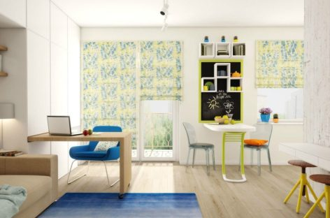 Giải pháp thiết kế ấn tượng cho căn hộ nhỏ