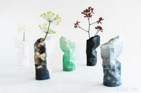 Phương pháp độc đáo tạo nên lọ hoa nghệ thuật từ chai cũ