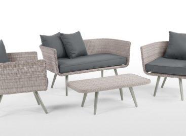 Thiết kế đơn giản và thanh lịch của bộ sưu tập bàn ghế ngoài trời Laysan