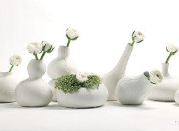 Vẻ đẹp thô sơ và mộc mạc của bộ bình hoa gốm Calebas