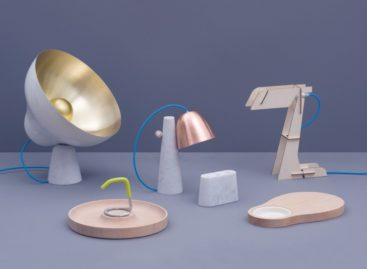 Thiết kế đèn của ZPSTUDIO – sự sang trọng từ đá cẩm thạch Carrara