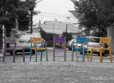 Thêm màu sắc cho không gian bằng chiếc ghế Valoví