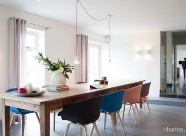 Phòng ăn hiện đại với những ý tưởng tinh tế và tối giản (Phần 1)