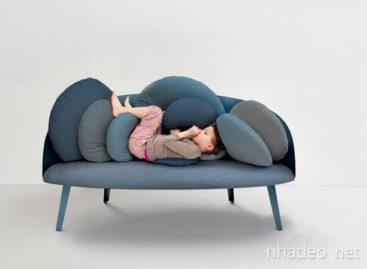 Tận hưởng sự thoải mái từ sofa Nubilo của Constance Guisset