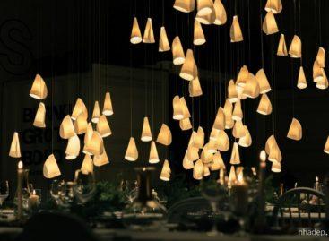 Cho không gian thêm phần lung linh với bộ đèn treo 21 của Omer Arbel