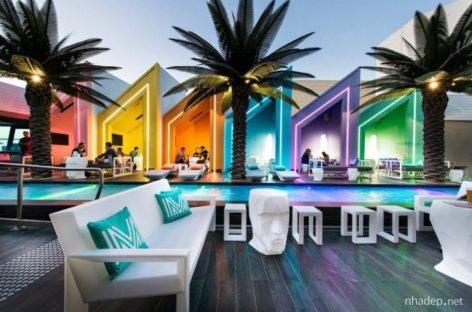 Rực rỡ sắc màu với câu lạc bộ bãi biển Mattise