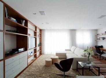 Sự thanh lịch trong kiến trúc căn hộ Ahu 71 tại Brazil