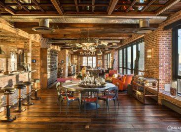 Căn hộ Penthouse theo phong cách cổ điển tại New York