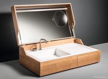 Hidden – Chiếc bồn rửa có thể theo bạn đến bất kỳ đâu