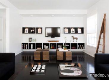 Lắng đọng trong không gian kiến trúc Thornton Model Home