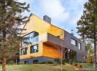 Malbaie VIII-La Grange – Ngôi nhà gỗ hiện đại và ấm áp ở Quebec, Canada