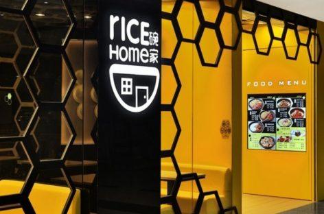Thiết kế lạ mắt của nhà hàng Rice Home