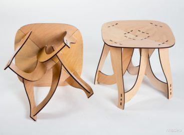 Thiết kế lạ mắt của  chiếc ghế Freeform