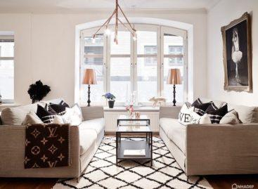 Ấn tượng với sự pha trộn giữa cổ điển và hiện đại của căn hộ theo phong cách Scandinavia