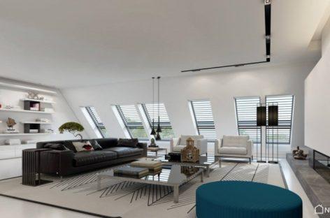 Căn hộ sang trọng tại Düsseldorf, Đức được thiết kế bởi Ando Studio