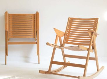 Bộ sưu tập ghế bập bênh REX màu sắc của Niko Kralj