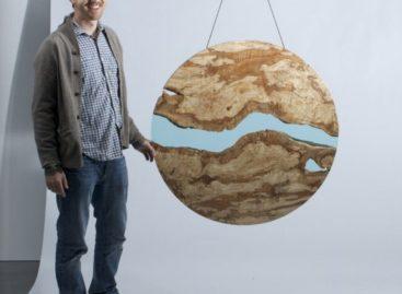 Chiêm ngưỡng dòng chảy thiên nhiên trong bộ sưu tập bàn của Greg Klassen