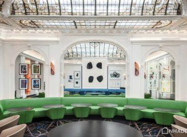 Không gian kiến trúc khách sạn Hotel Vernet, Paris