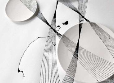 """Những chiếc đĩa có đường nét """"dao động"""" của David Derksen"""