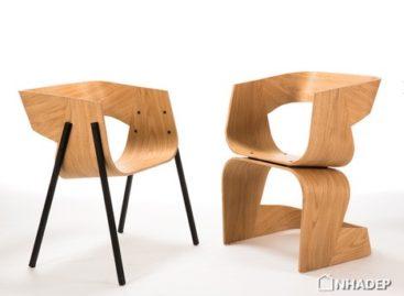 Thiết kế đối xứng của ghế Bob