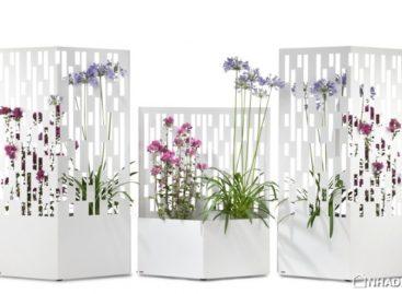 Elmas – Hàng rào hoa nghệ thuật được thiết kế bởi Michael Koenig
