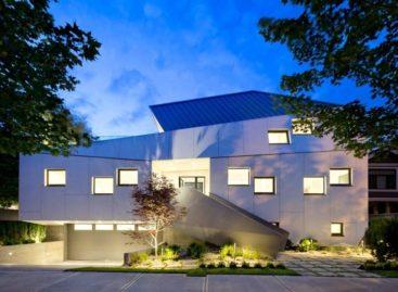 Nét sáng tạo trong thiết kế nhà ở tại Vancouver