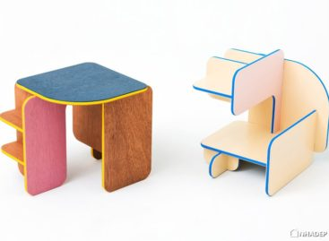 Dice – đồ nội thất đa chức năng được thiết kế bởi Torafu